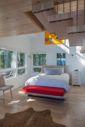 2662- Shorefront Camp Interior Bedroom
