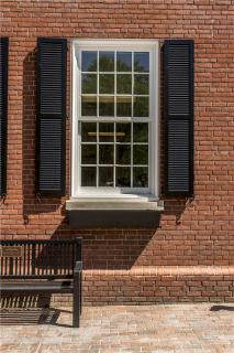 Westborough Town Hall Exterior Window