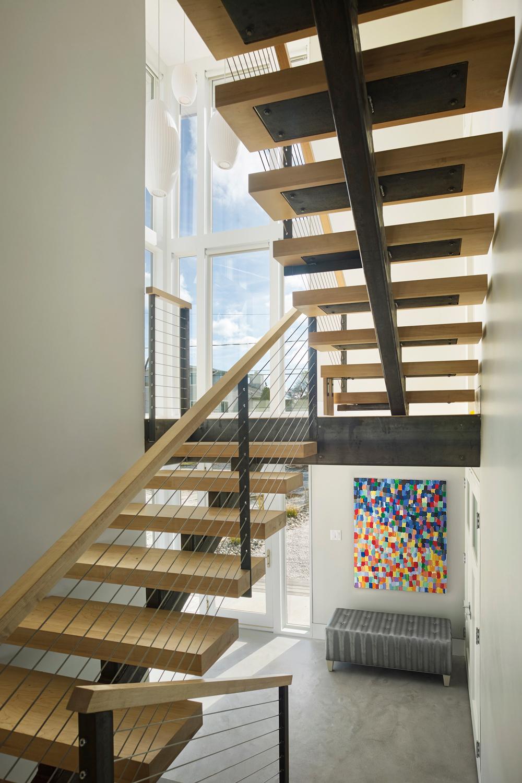 Layton Residence Interior Stairs