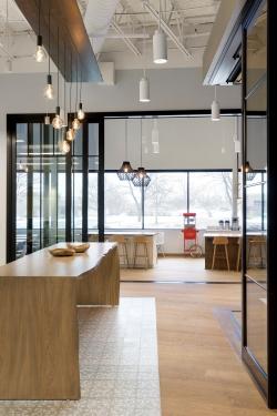 Eagan Office Lounge Entrance