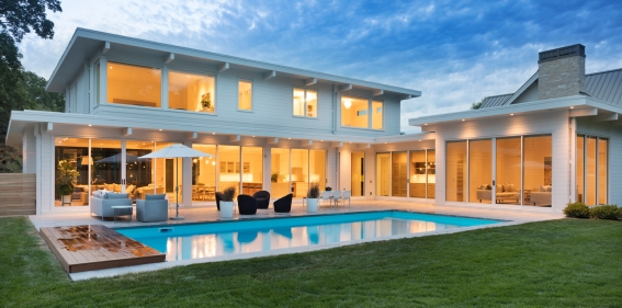 Elevation Home Backyard