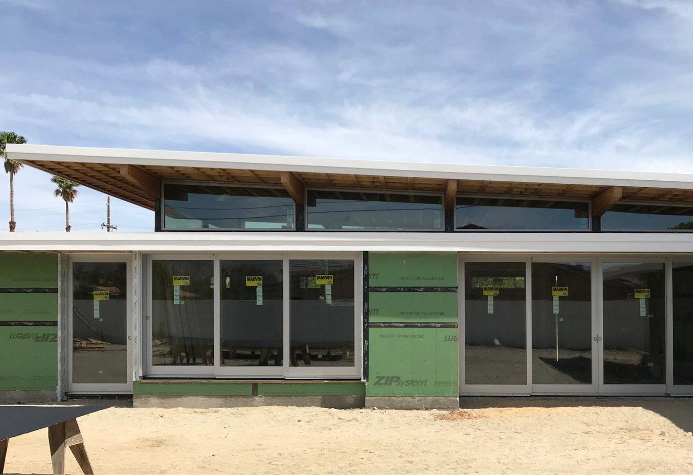 Dwell Axiom Desert House Joel Turkel Marvin Windows Installed