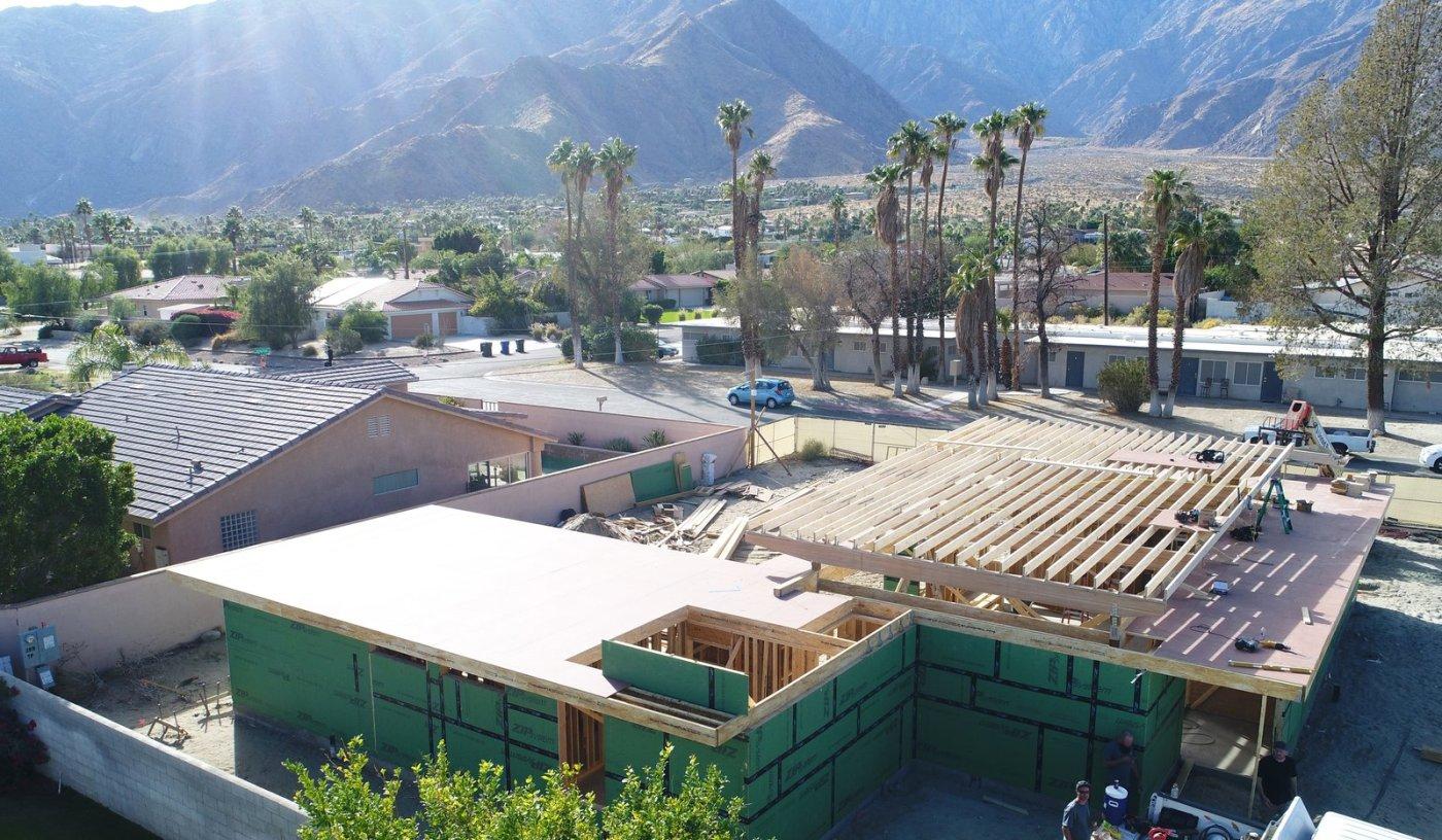 Dwell Axiom Desert House Turkel Design Aerial Shot