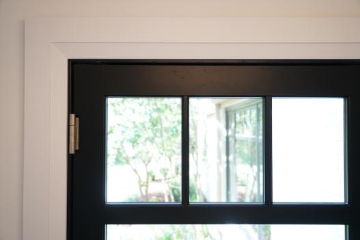 Property Brothers Black Door Detail
