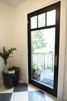 Property Brothers Black Swinging French Door